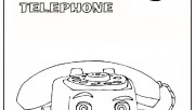 chatter-telephone toy story 3 cartoon coloring page