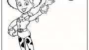 jessie Toy Story 3 print out coloring page