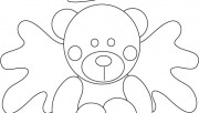Printable Valentine Bear Coloring Pages