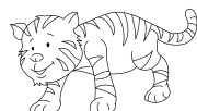Printable animal Baby tig…