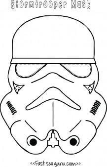 Star wars stormtrooper mask printable for kids