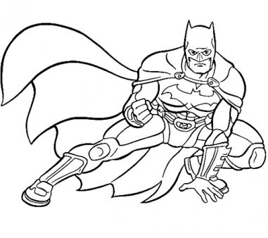 marvel superheroes batman coloring pages