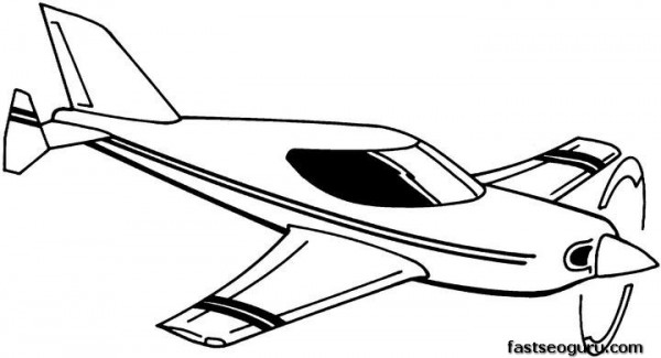 Printable coloring pages for kids flying plane - Printable ...