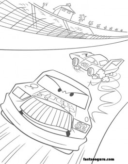 Car 2 Ramone print coloring pages for kids
