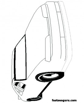 speed car free coloring pages pirnt out
