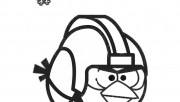 Printable Angry Birds Star Wars Coloring Page