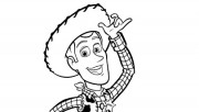 Woody Free Kids Coloring Pages Printable