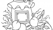 Printable Nektarin coloring pages