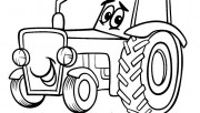 Print out Tractor Colorin…