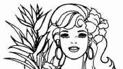 Printable Barbie Coloring…