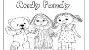 Printable andy pandy colo…