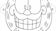 Printable garfield mask c…