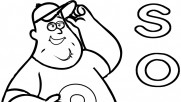Printable gravity falls soos coloring pages