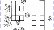 christmas word crossword …
