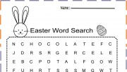Easter Word Search print …