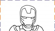 iron man baby coloring pa…