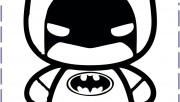 batman baby coloring page…