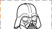 Baby Darth vader coloring pages