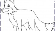 cute fox coloring pages f…