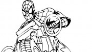 coloring pages spiderman …