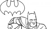batman easy cartoon drawi…