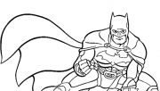 marvel superheroes batman coloring pages