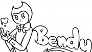 Coloring pages bendy and …