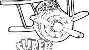 coloring pages super wing…
