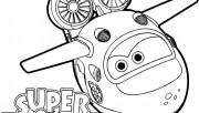 Super Wings Mira coloring…