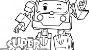 super wings Zoey coloring page girl