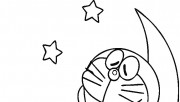 pictures to color doraemon to print