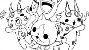 Yo kai Watch coloring page to print