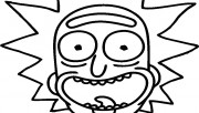 picture to color  rick to…