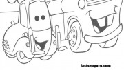 Guido and tow mater color…