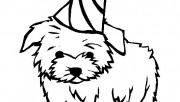 Kids coloring pages dog M…