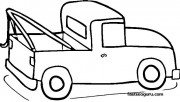 Pickup Truck coloring pag…