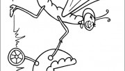 insect childrens coloring sheets