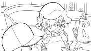 online Coloring Pages Handy Manny