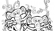 Printable Monkeys of Mada…