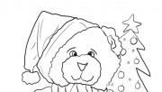 Printable Christmas Bear …
