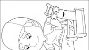 Handy Manny Coloring Page…