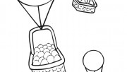 easter baskets coloring p…