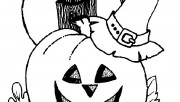 Halloween coloring page f…
